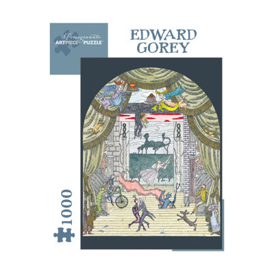 Pomegranate Communications Inc. Edward Gorey - Untitled Puzzle: 1000 Pcs