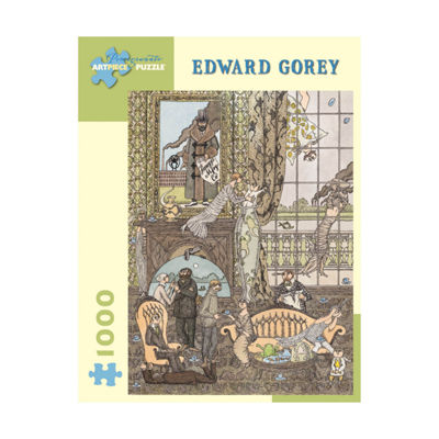Pomegranate Communications Inc. Edward Gorey - Frawgge Manufacturing Co. Puzzle: 1000 Pcs