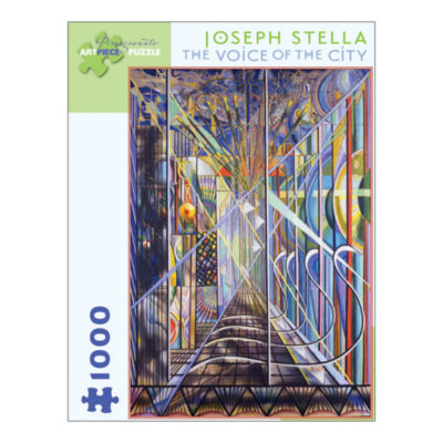 Pomegranate Communications Inc. Joseph Stella - The Voice of the City Puzzle: 1000 Pcs