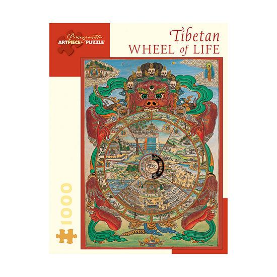 Pomegranate Communications, Inc. Tibetan Wheel Of Life Puzzle: 1000 Pcs