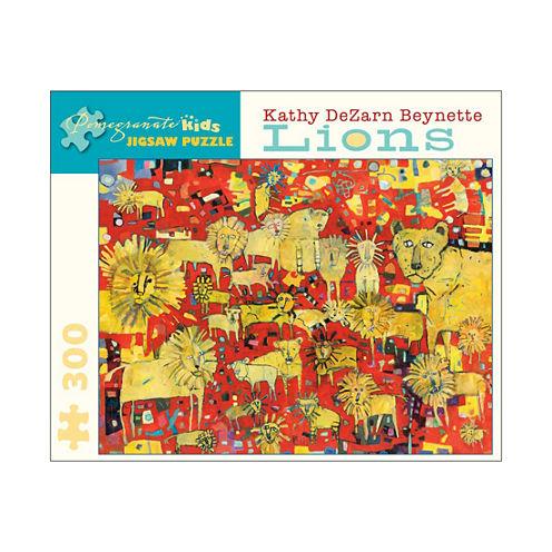 Pomegranate Communications Inc. Kathy DeZarn Beynette - Lions Puzzle: 300 Pcs