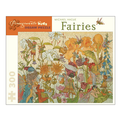 Pomegranate Communications Inc. Michael Hague - Fairies Puzzle: 300 Pcs