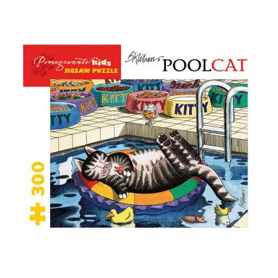 Pomegranate Communications Inc. B. Kliban - Pool Cat Puzzle: 300 Pcs