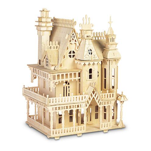 Puzzled Fantasy Villa Wood Puzzle