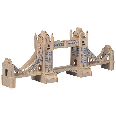 Puzzled London Tower Bridge Wooden Puzzle