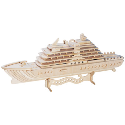Puzzled Luxury Yacht Wooden Puzzle