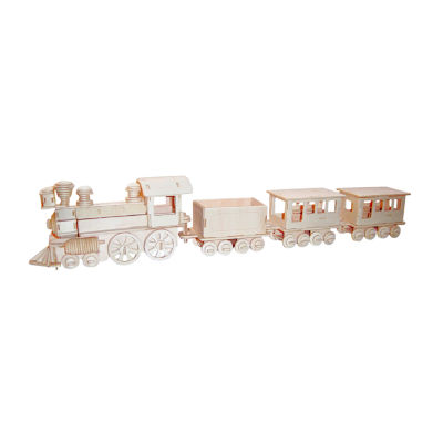 Puzzled Train Wooden Puzzle