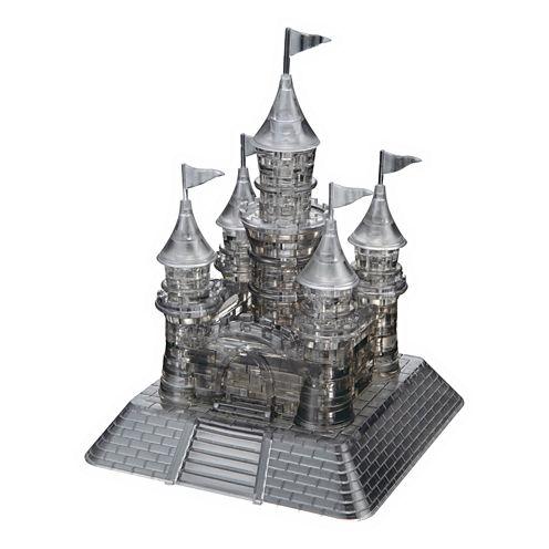 BePuzzled 3D Crystal Puzzle - Castle (Black): 104Pcs
