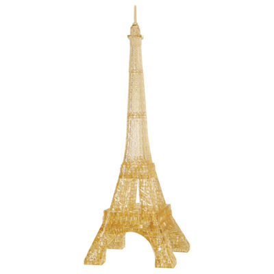 BePuzzled 3D Crystal Puzzle - Eiffel Tower: 96 Pcs