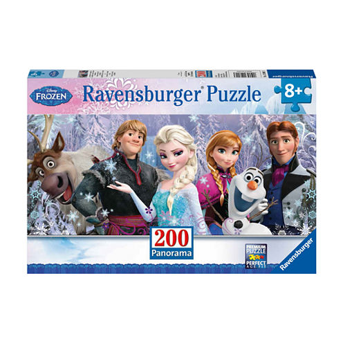 Ravensburger Disney Frozen Panoramic Puzzle - Frozen Friends: 200 Pcs