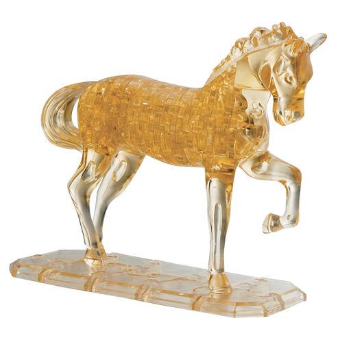 BePuzzled 3D Crystal Puzzle - Horse: 98 Pcs