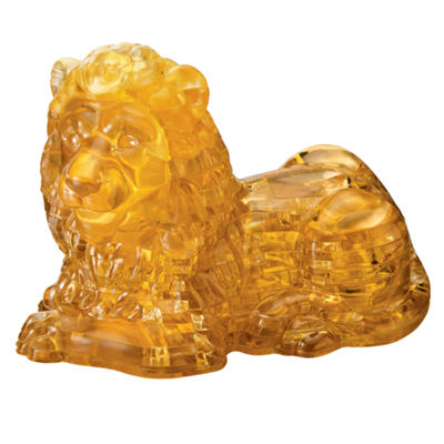 BePuzzled 3D Crystal Puzzle - Lion: 96 Pcs
