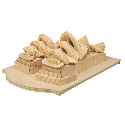Puzzled Sydney Opera House Wooden Puzzle