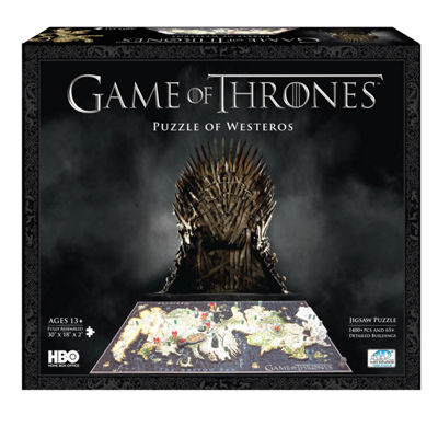4D Cityscape Time Puzzle - Game of Thrones: A Guide to Westeros