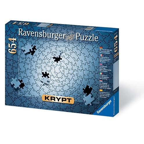 Ravensburger Krypt Blank Puzzle Challenge: 654 Pcs
