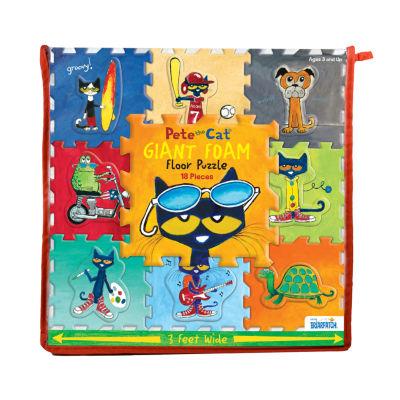 Briarpatch Pete The Cat Giant Foam Floor Puzzle: 18 Pcs