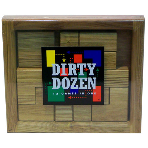 Square Root Dirty Dozen Brain Teaser Puzzle