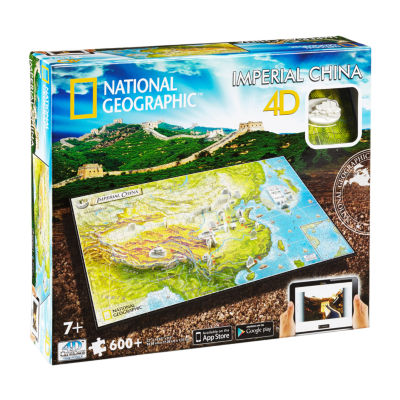4D Cityscape Time Puzzle - National Geographic - Imperial China: 600 Pcs