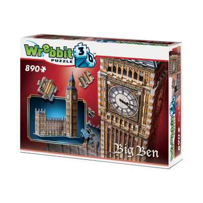 Wrebbit Big Ben 3D Puzzle: 890 Pcs