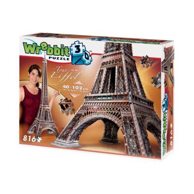Wrebbit Eiffel Tower 3D Puzzle: 816 Pcs
