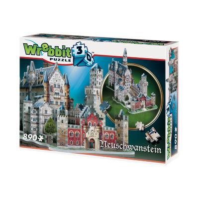 Wrebbit Neuschwanstein Castle 3D Puzzle: 890 Pcs