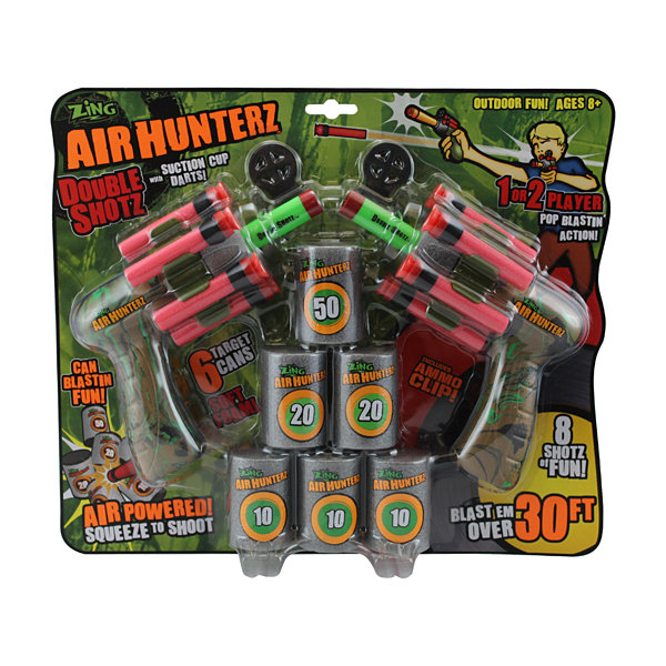 Zing Toys Air Hunterz Double Shotz