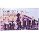 John N. Hansen Co. Wood Magnetic Chess Set