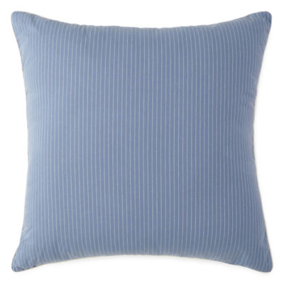 New England Charm Stripe Euro Pillow