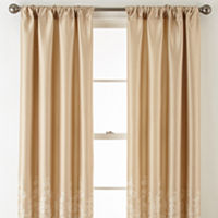 Royal Velvet Lucia Rod Pocket Curtain Panel Deals