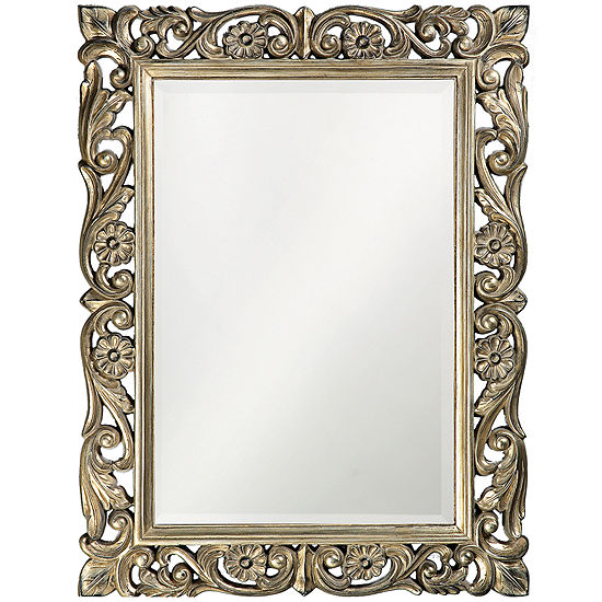 Light Gold Chateau Wall Mirror