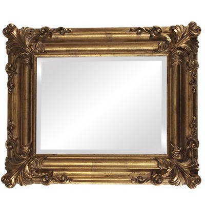 Edwin Gold Wall Mirror