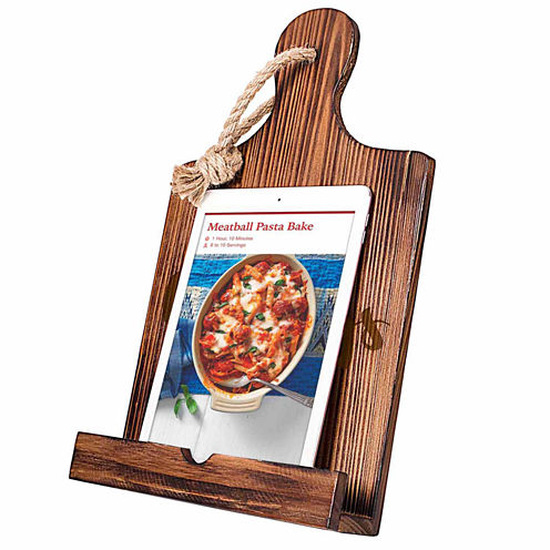 """Cathy's Concepts """"Cravings"""" Wooden iPad & Recipe Holder"""