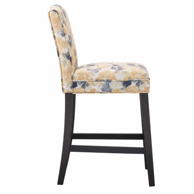 Madison Park Floral Bar Stool