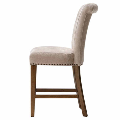 Madison Park Tufted Bar Stool