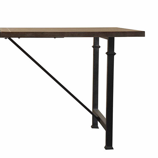 Madison Park Blyth Metal Leg Dining Table