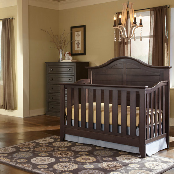 Attrayant Thomasville Kids Southern Dunes 4 In 1 Convertible Crib   Espresso
