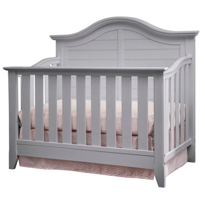 Thomasville Kids Southern Dunes Lifestyle 4-in-1 Convertible Crib - Pebble Gray