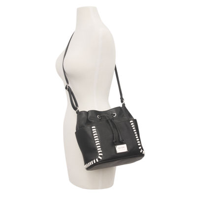 Nicole By Nicole Miller Aubrey Faux Leather Bucket Bag