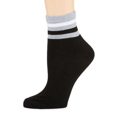 City Streets 1 Pair Quarter Socks - Womens