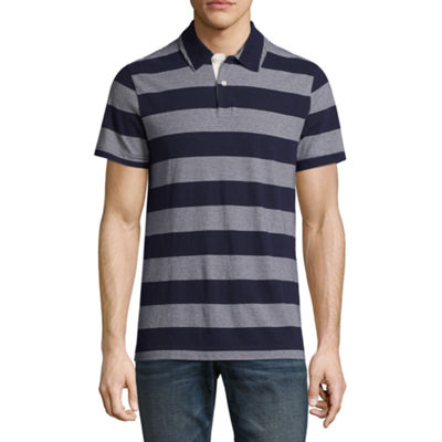 Arizona Short Sleeve Stripe Jersey Polo Shirt