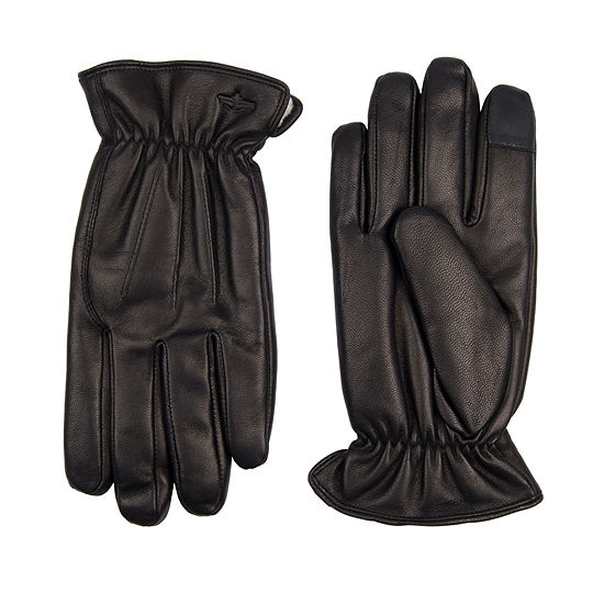 Dockers Maximum Warmth Leather Gloves with Touchscreen Technology