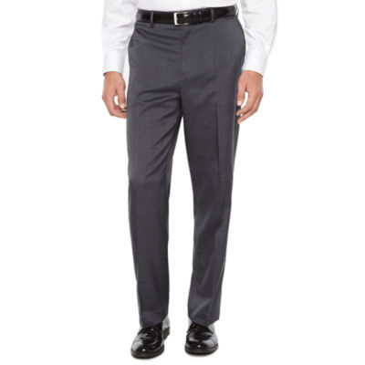 Savane Straight Fit Flat Front Pants