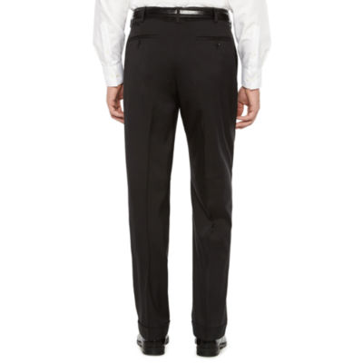 Savane Straight Fit Pleated Pants