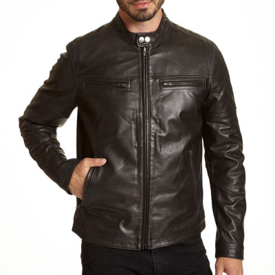 Excelled Leather Midweight Motorcycle Jacket - Big and Tall