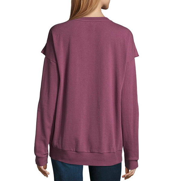 Arizona Ruffle Sweatshirt-Juniors