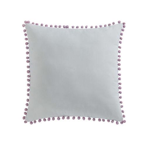 Laura Hart Kids Unicorn Princess Pom Pom Throw Pillow