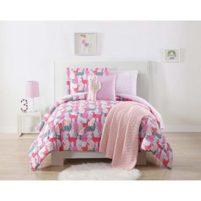 Laura Hart Kids Llama Comforter Set