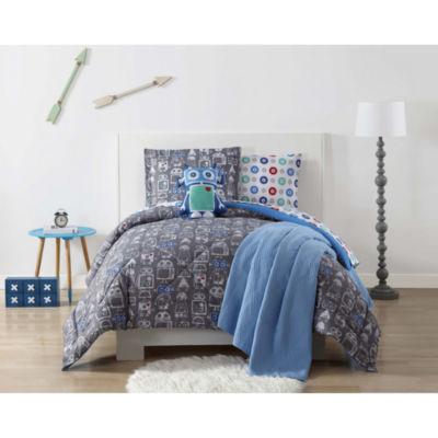 Laura Hart Kids Roboto Comforter Set