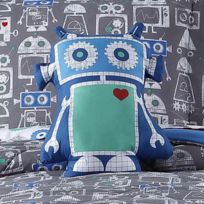 Laura Hart Kids Roboto Throw Pillow