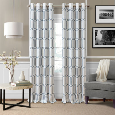 Elrene Kaiden Blackout Curtains Blackout Grommet-Top Curtain Panel